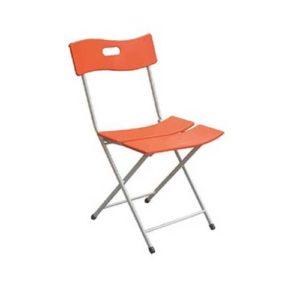 Ghế nhựa gấp G135S màu cam