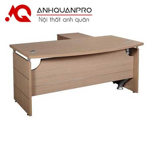 Bàn trưởng phòng HRP1600 được sử dụng nhiều tại các công ty ngày nay.Bàn được dùng đi kèm tủ phụ di động