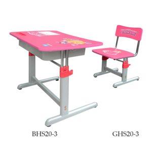 Bộ bàn ghế học sinh Hòa Phát BHS20-3 màu hồng