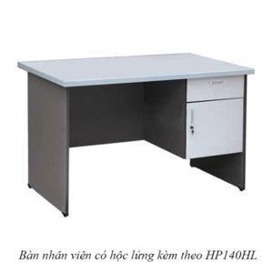 ban nhan vien co hoc lung HP140HL