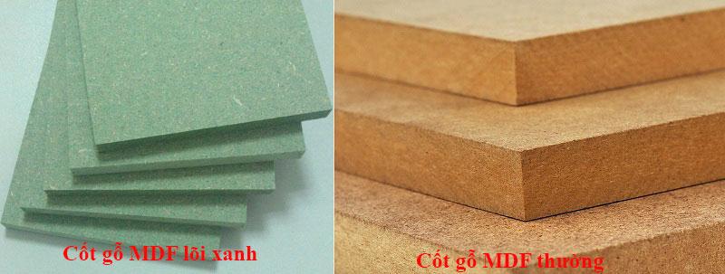Cốt gỗ MDF - gỗ công nghiệp MDF