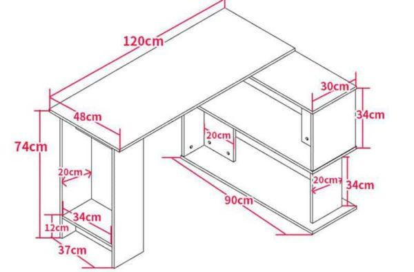 Thông số kích thước bàn BGC25