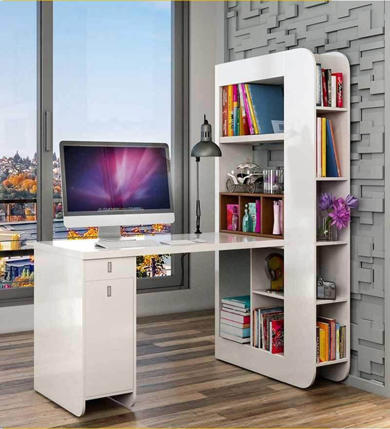 Bàn học , bàn làm việc tại nhà có giá sách BGC28 - 1