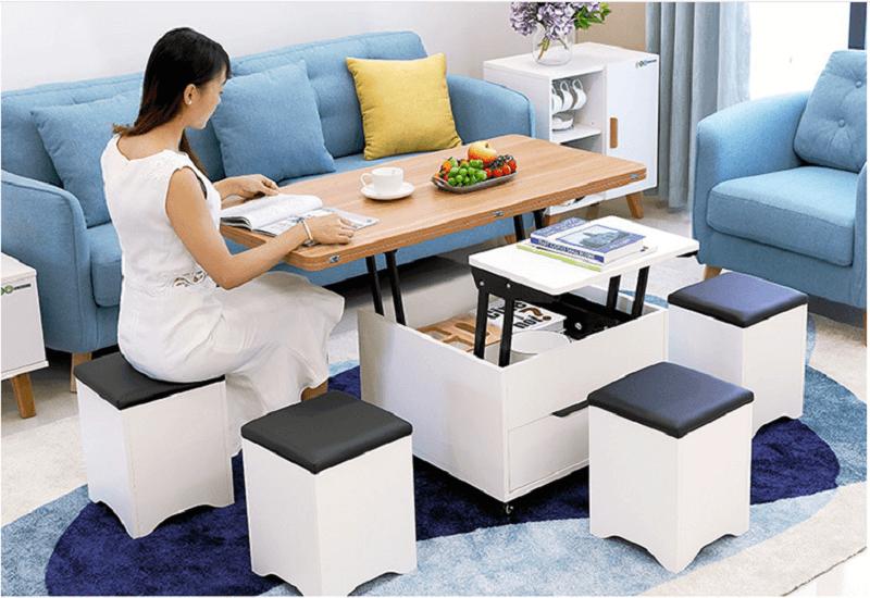 Gợi ý những mẫu bàn ghế cho phòng khách nhỏ hiện đại