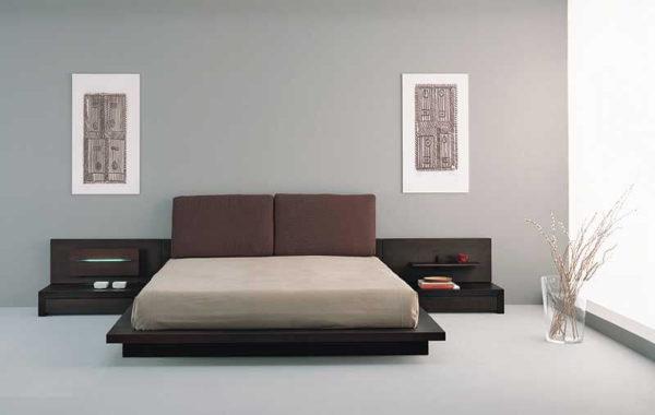 Giường ngủ kiểu Nhật cao cấp G04