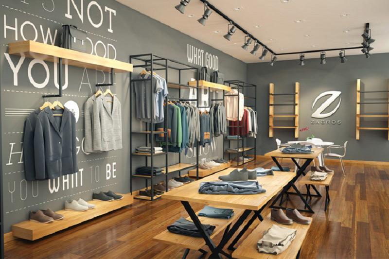Giá treo quần áo cho các shop thời trang