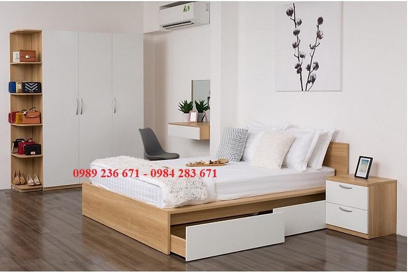 COmbo nội thất phòng ngủ hiện đại , đơn giản.