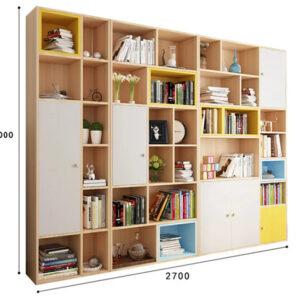 Kệ tủ sách gỗ KSG20 bộ Combo